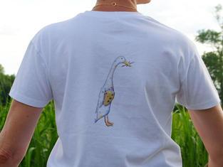 Unisex T-shirt, Duck Artist £25