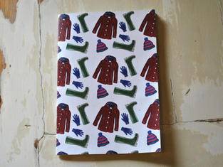 Wellies, Coat, Hat & Gloves Notebook £4.50