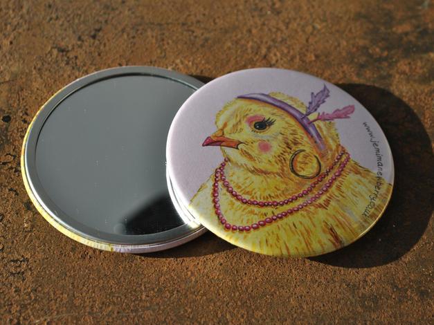 Classy Chick Pocket Mirror £4.50
