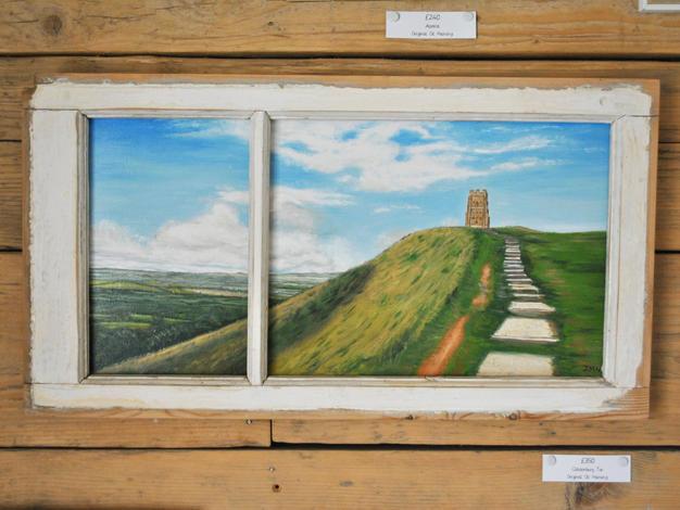 Glastonbury Tor, Original Oil Painting £350