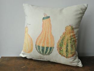 Ornamental Gourds Cushion £28