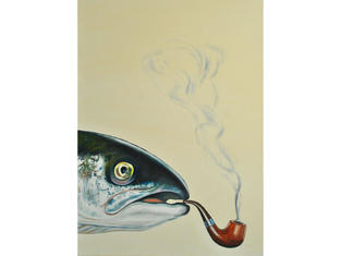 Smoked Salmon Limited Edition Giclee A4 Print £25