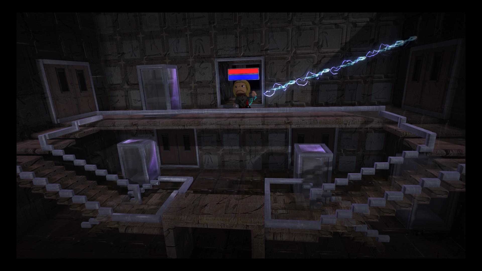 Thor Enters the Sanctum Sanctorum