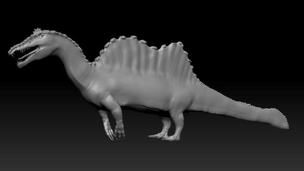 Spinosaurus 3D