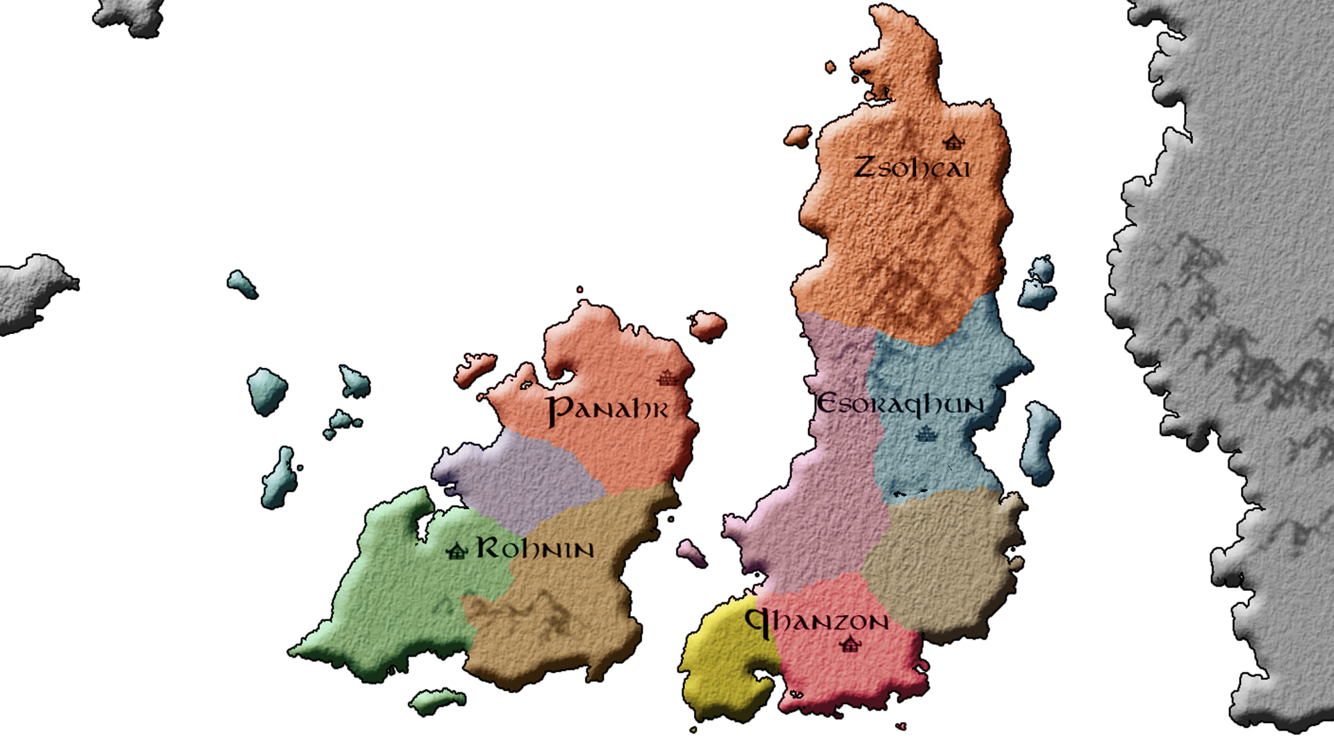 Game Map (Regions)