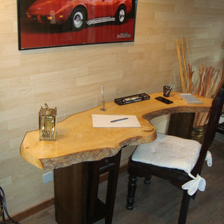 Schreibtisch als Design
