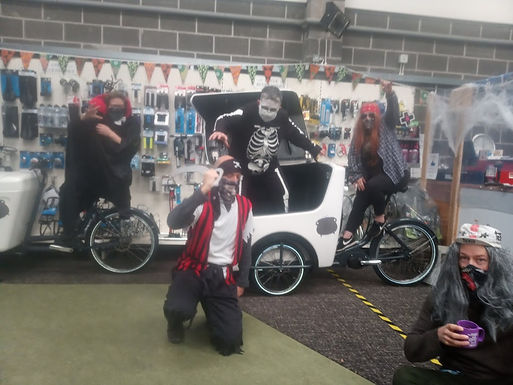 Halloween Trick or Treat at Bike Town