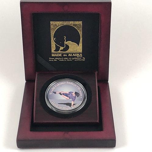 Alaskan High Kick Commemorative Coin