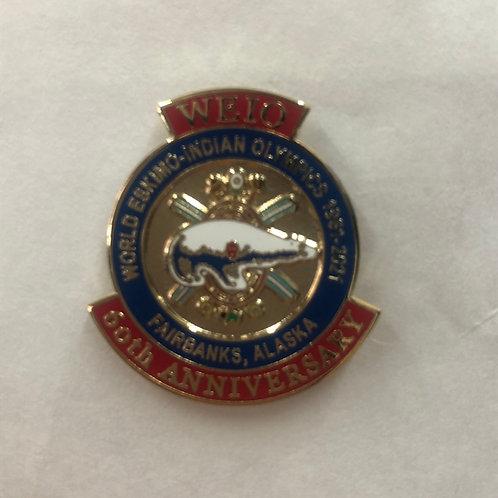 60th Anniversary Pin - Large