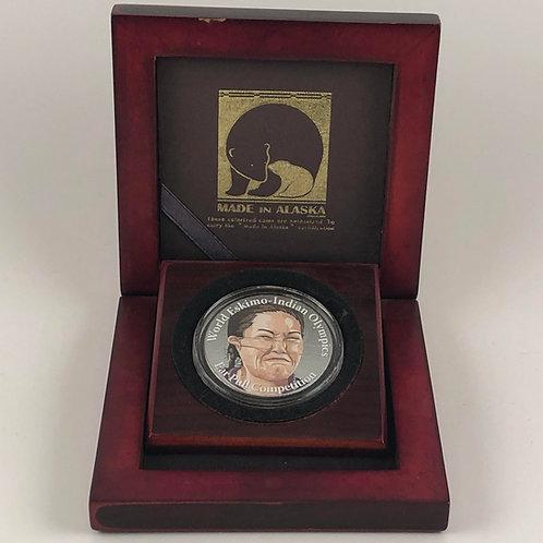 Ear Pull Commemorative Coin