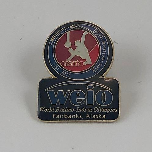 50th Anniversary Kicker Pin