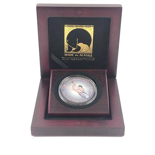 2 Foot High Kick Commemorative Coin