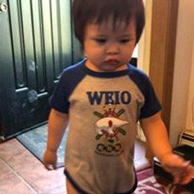 Infant Baseball Jersey Onesie