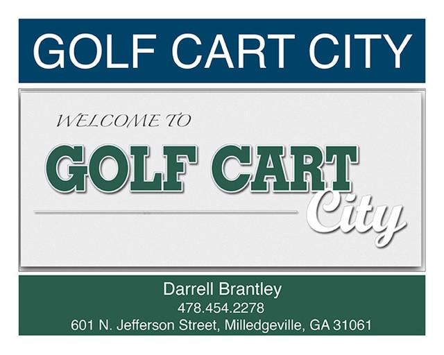 Golf Cart City