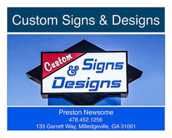 Custom Signs & Designs