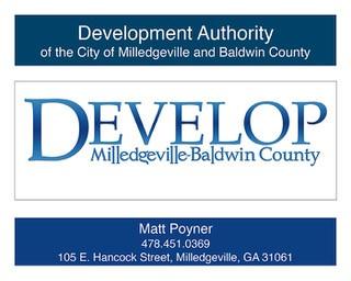Develop Milledgeville-Baldwin County
