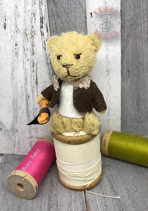 Rick - The Walking Dead Miniature Handmade Vegan Teddy Bear