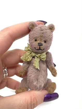 Joey - Miniature Handmade Vegan Teddy Bear
