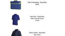 School Uniform Price List