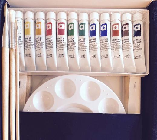 Acrylics Kit