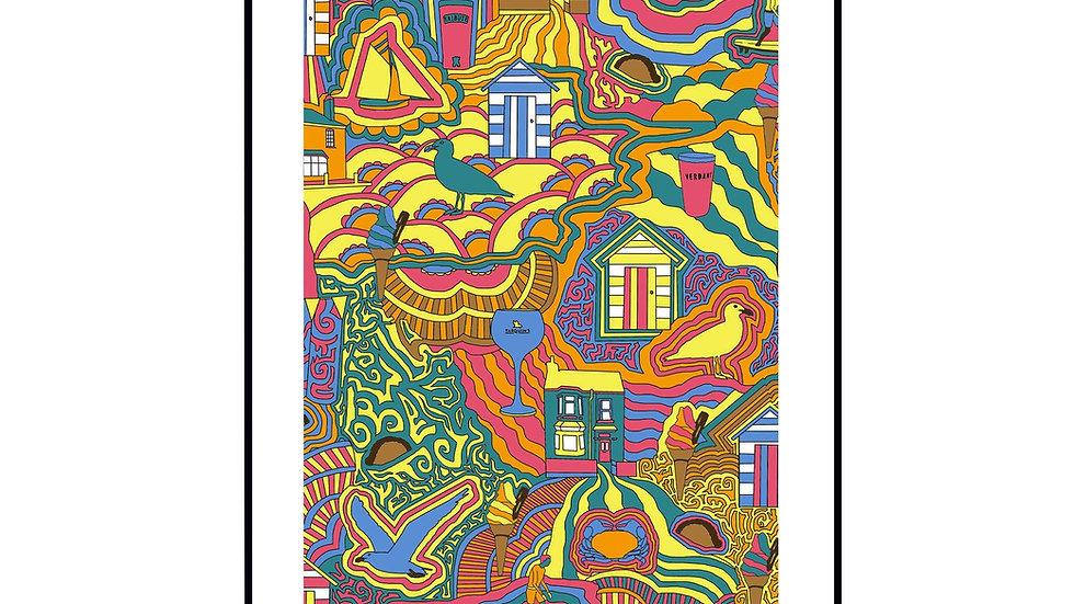Falmouth Wall Print