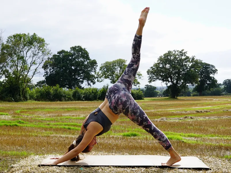Trying Yoga