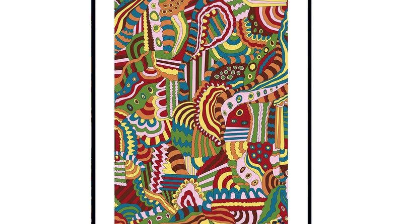 Abstract Lord John Wall Print