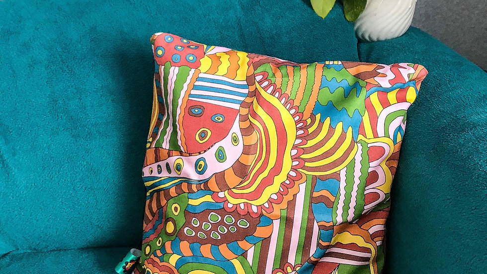Abstract Print Cushions