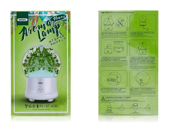 Remax Humidifier Flowers Aromalamp - RT-A700 - White
