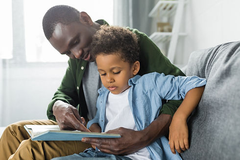 adorable-african-american-father-and-son