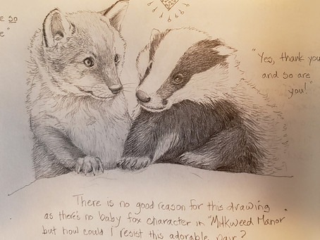 Badgers and a little break