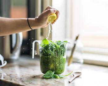Приготовление зеленого сока
