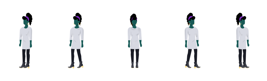 Bev- Illustration Character