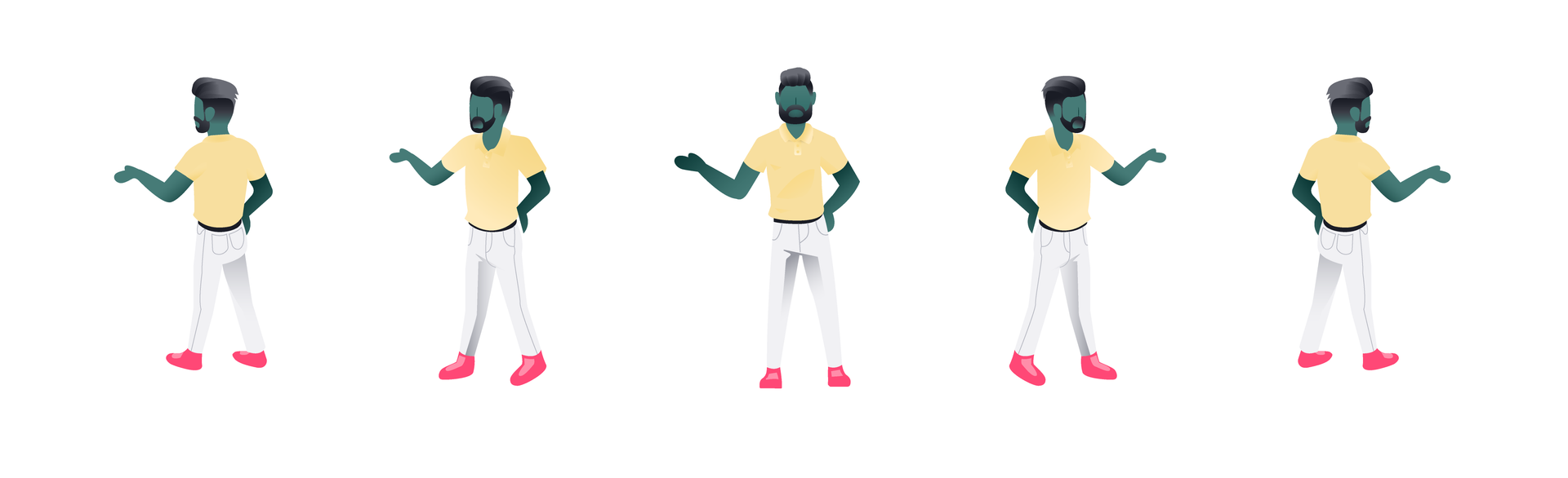 Jeff- Illustration Style