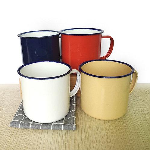 Enamel Coffee Tea Cup
