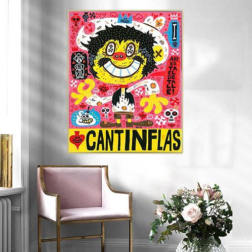 "Jorge Gutierrez ""Cantinflas"" Canvas Replica"