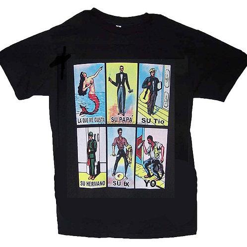 Loteria 6 Cartas T-Shirt