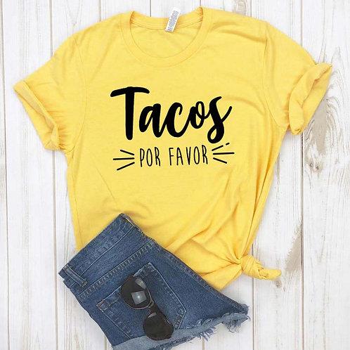 Tacos Por Favor Women Tshirt