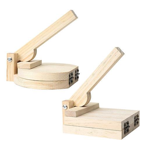Wood Tortilla Press