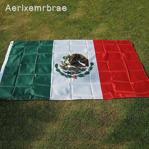 Mexico Flag 3ft x 5ft