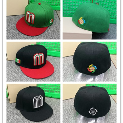 Mexico Fitted Caps