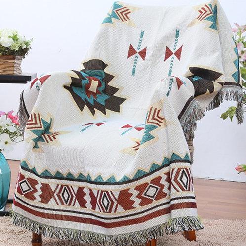 Southwest Sofa Small Throw Blanket