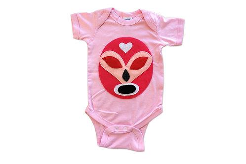 Luchador Rosa - Pink Mexican Wrestler - Onesie