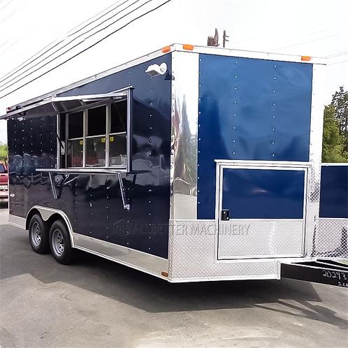 Food Trailer Kitchen Humburger Truck Ice Cream BBQ Grill Mobile Street Food Cart