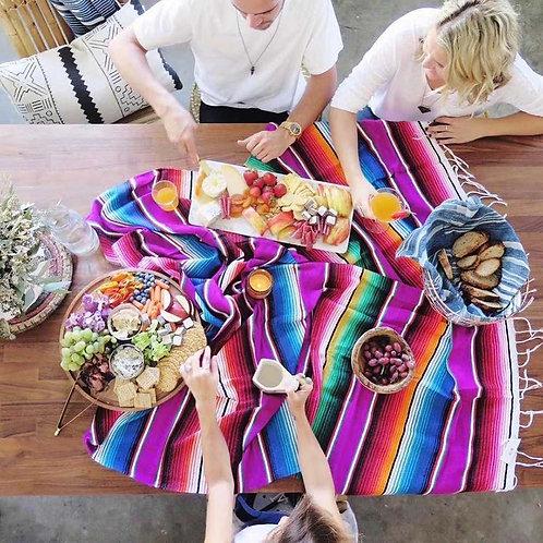 Sarape Falsa Blanket or Table Cloth