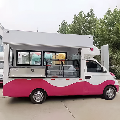 Electric Gas Grill Food Kitchen Van