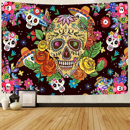 Simsant Summer Fiesta Art Wall Hanging Tapestries