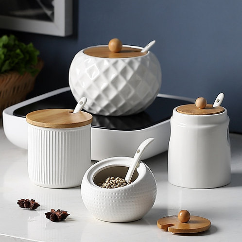 Ceramic Seasoning Jars