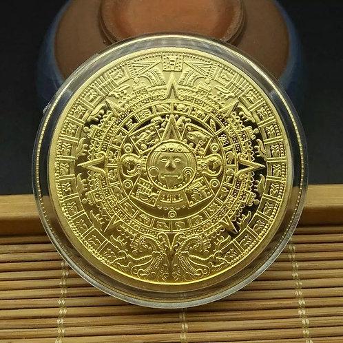 Mayan Calendar Memorial Coin