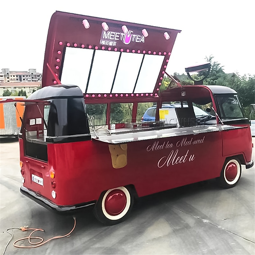 Taco Street Service Fast Food VW Bus